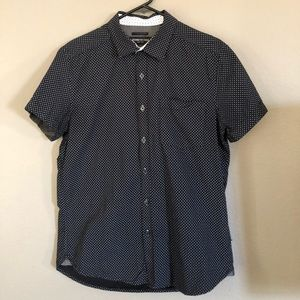 Button up T-shirt by Kenneth Cole